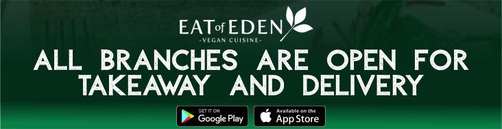 Eat of Eden Artwork - Open During Lockdown